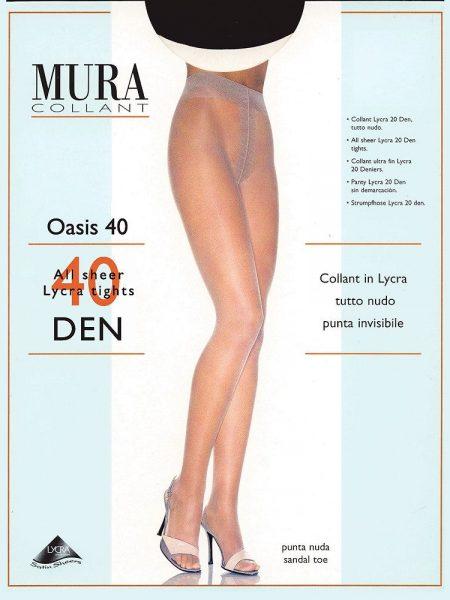 Pėdkelnės MURA Oasis 40 den