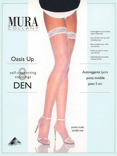 Prilimpančios kojinės MURA Oasis-up 8 den