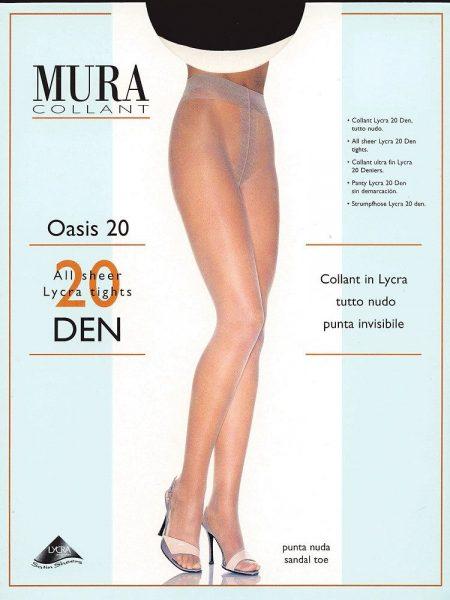 Pėdkelnės MURA Oasis 20 den