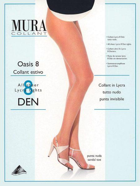 Pėdkelnės MURA Oasis 8 den