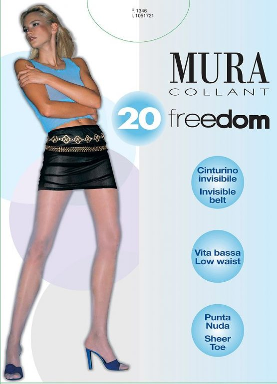 Pėdkelnės žemintu juosmeniu MURA Freedom 20 den