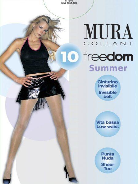 Pėdkelnės žemintu juosmeniu MURA Freedom 10 den