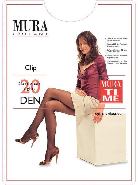 Pėdkelnės MURA Clip 20 den