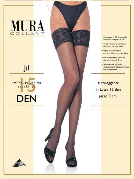 Prilimpančios kojinės MURA Jil 15 den