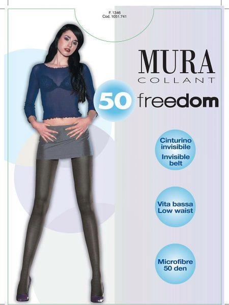 Pėdkelnės žemintu juosmeniu MURA Freedom 50 den