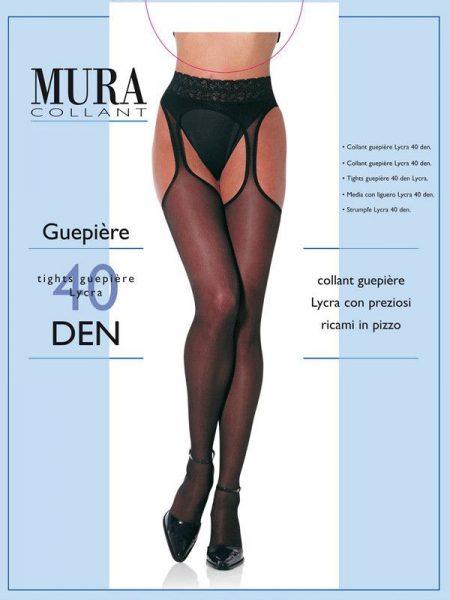 Seksualios pėdkelnės MURA Guepiere 40 den