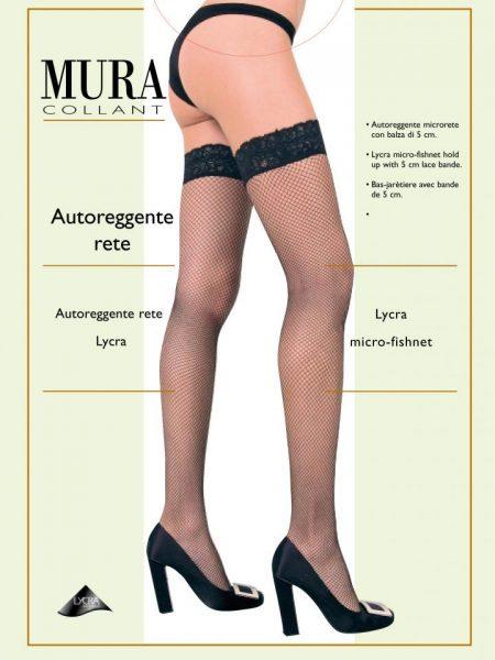 Prilimpančios tinklinės kojinės MURA AUTOREGENTE RETE