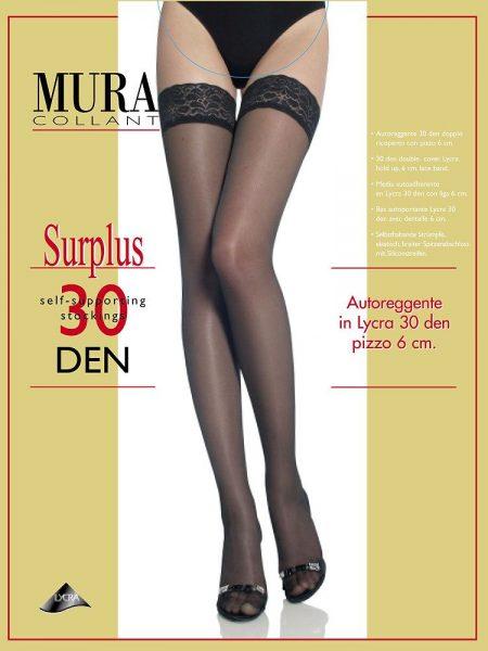 Prilimpančios kojinės MURA Surplus 30 den