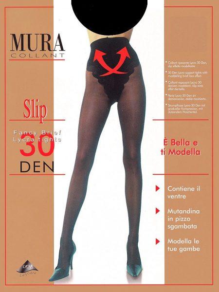 Pėdkelnės MURA Slip 30den
