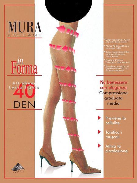 Pėdkelnės MURA In forma 40den