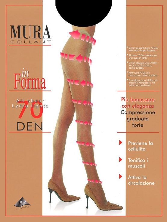 Pėdkelnės MURA In forma 70den