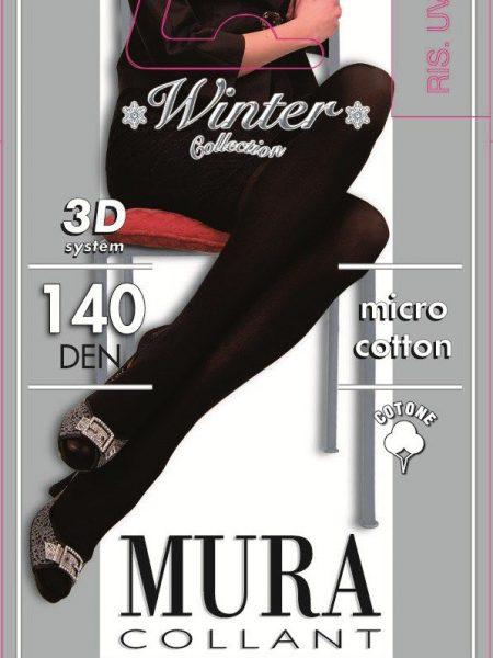 Pėdkelnės su medvilne MURA 3D Micro cotone 140den