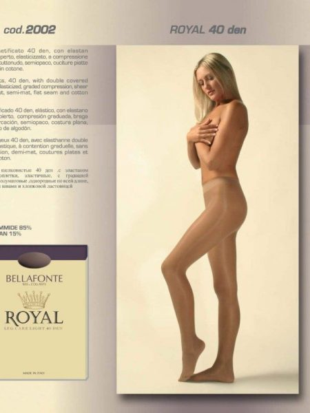Pėdkelnės BELLAFONTE ROYAL LEG CARE LIGHT 40 den