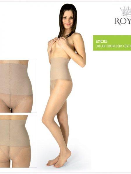 Pėdkelnės ROYAL BELLAFONTE Bikini Body Control 10den