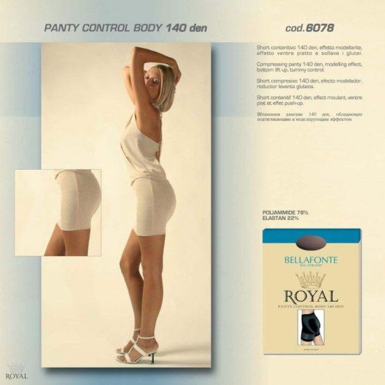 Kelnaitės-korsetas ROYAL BELLAFONTE PANTY CONTROL BODY 140D